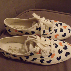 keds shoes with hearts